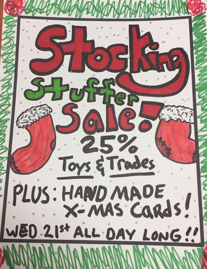 Carmine Street Comics Stocking Stuffer Sale