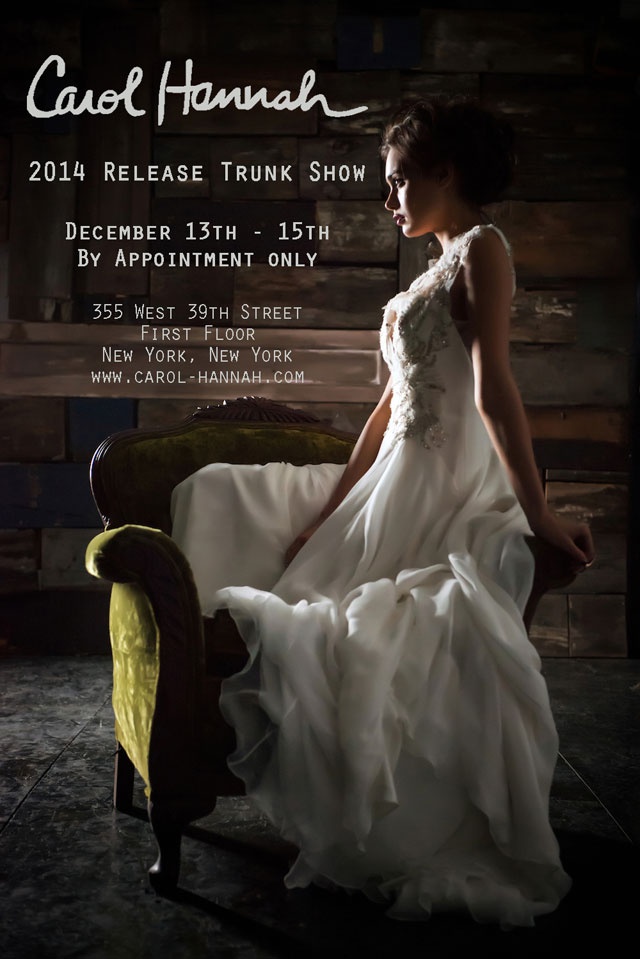 Carol Hannah 2014 Release Trunk Show