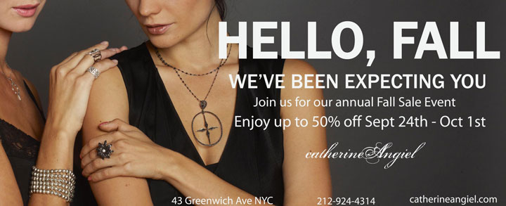 Catherine Angiel Fall Sale