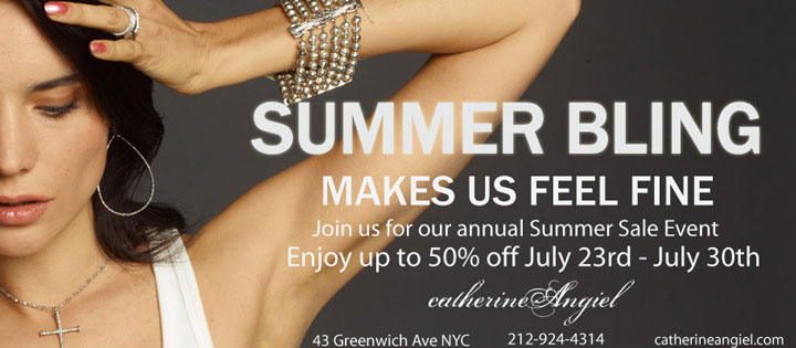 Catherine Angiel Summer Sale
