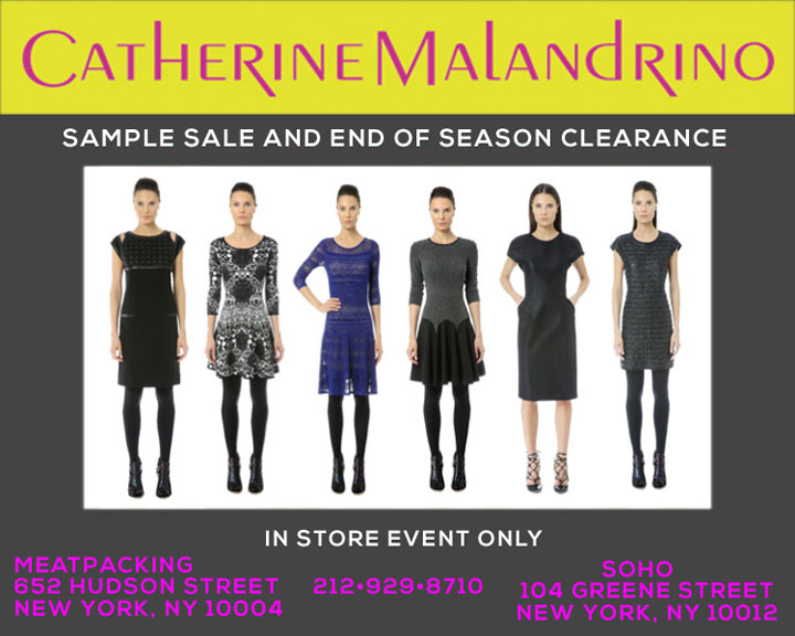 Catherine Malandrino End of Season and Sample Sale