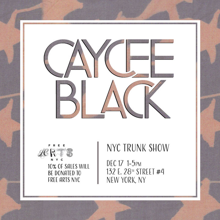 Caycee Black Collection NYC Trunk Show