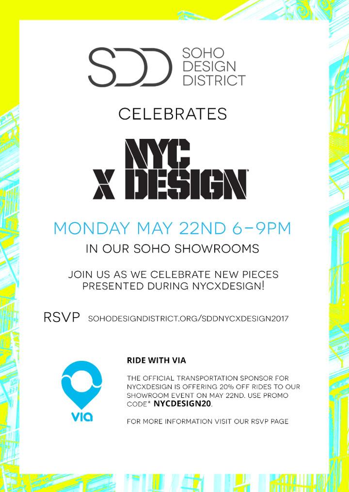 Celebrate NYCxDesign with Soho Design District