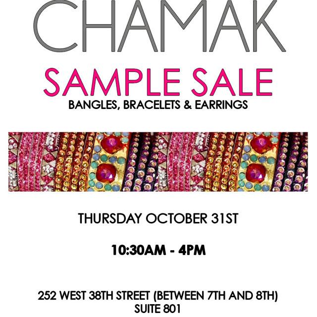 Chamak by Priya Kakkar Sample Sale