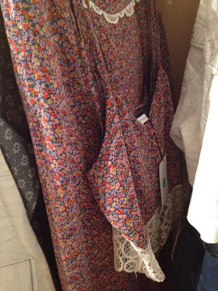 Charlotte Ronson Two Piece Estate Blue Floral Top and Skirt ($60)