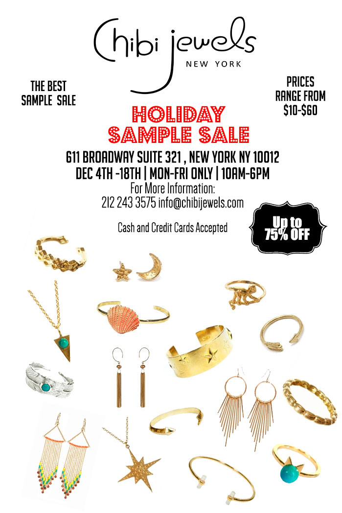 Chibi Jewels Holiday Sample Sale