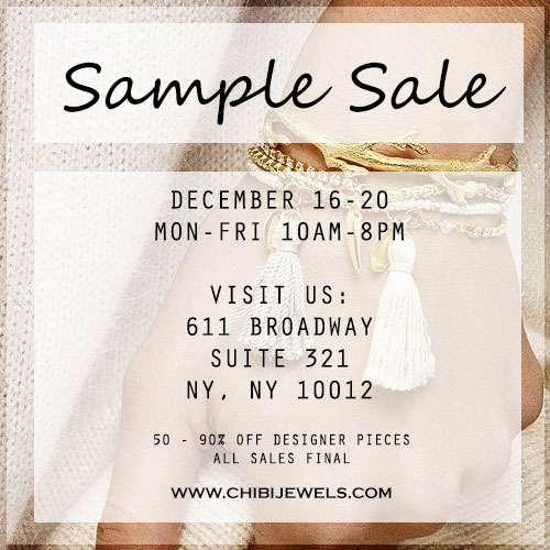 Chibi Jewels Sample Sale