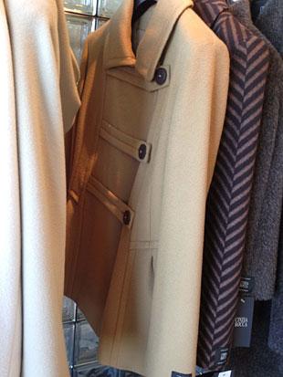 Cinzia Rocca Camel Walking Coat ($400)