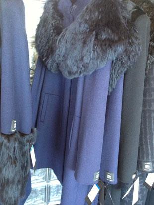 Cinzia Rocca Fur-Trimmed Coat ($1,000)