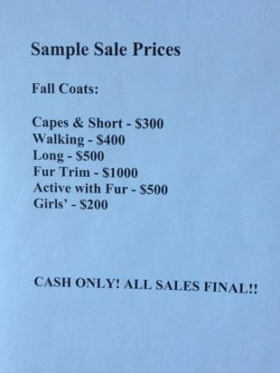 Cinzia Rocca Sample Sale Prices