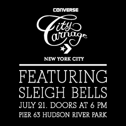 Converse City Carnage featuring Sleigh Bells