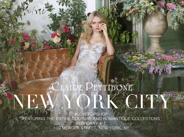 Claire Pettibone Pop-up Shop
