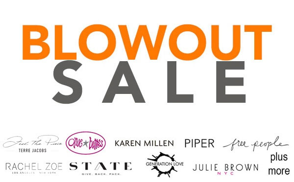 Clothingline Blowout Sale