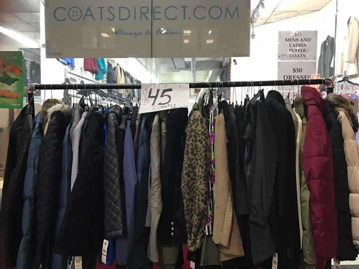 Coats Direct Sample Sale