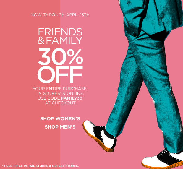 Cole Haan Friends & Family Sale
