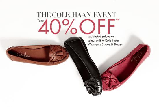 Cole Haan Sale at Neiman Marcus