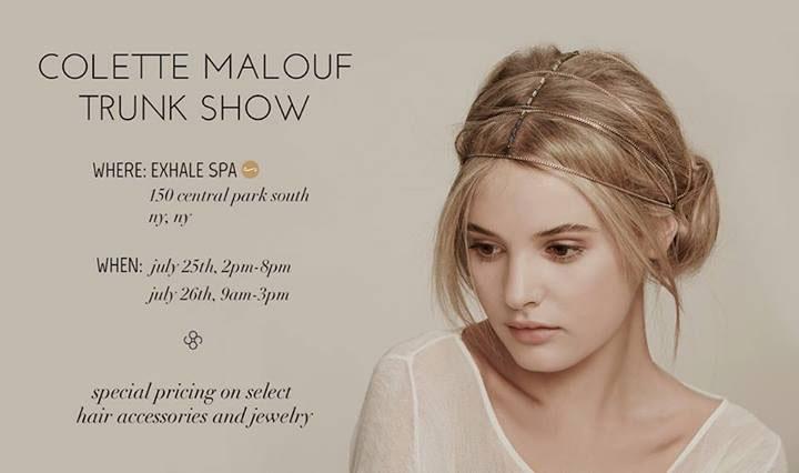 Colette Malouf Trunk Show