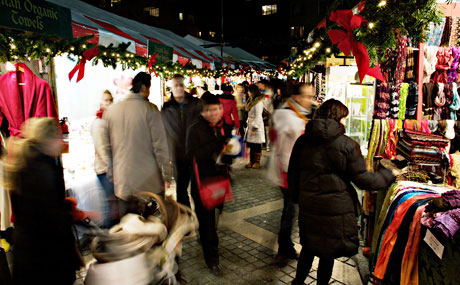 Best for Foodies: The Columbus Circle Holiday Market