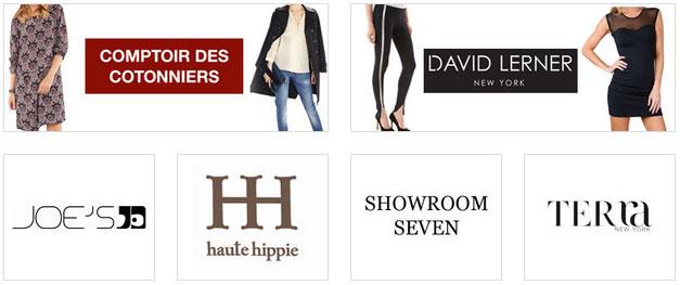 Comptoir des Cotonniers, Showroom Seven & David Lerner Clothing ...