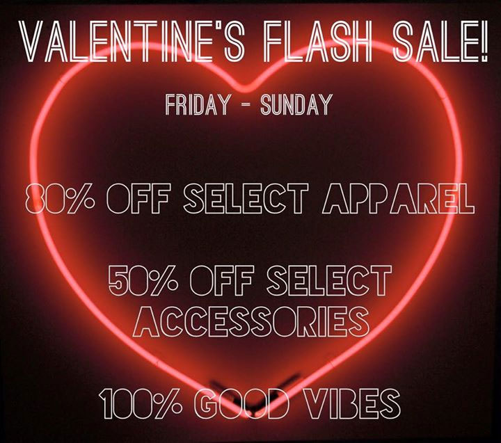 Concrete & Water Valentine's Day Flash Sale