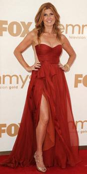 Connie Britton wearing Maria Lucia Hohan