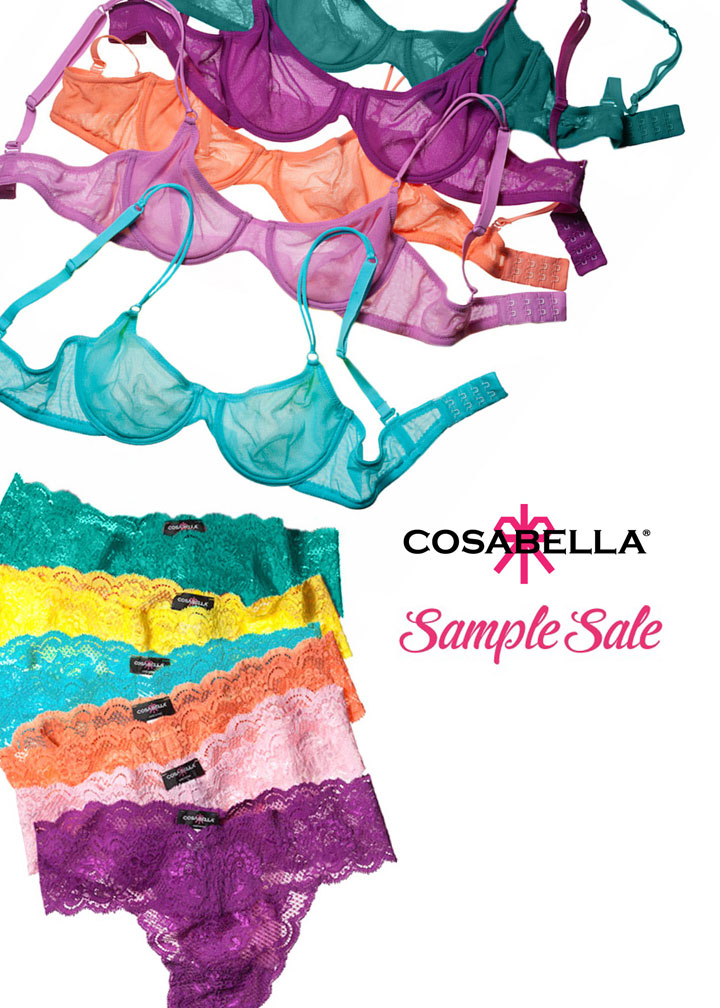 Cosabella Bra And Panty Only Sample Sale
