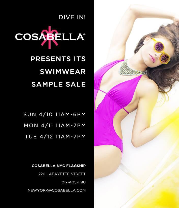 Cosabella Swimwear Sample Sale