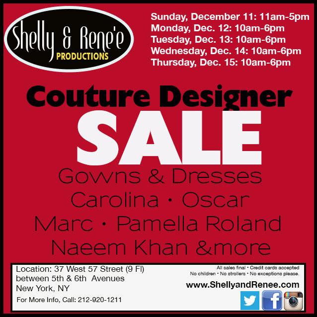 Naeem Khan, Pamella Roland, & More Sample Sale
