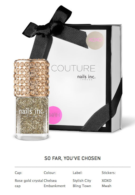 Couture by Nails Customized Nail Polish