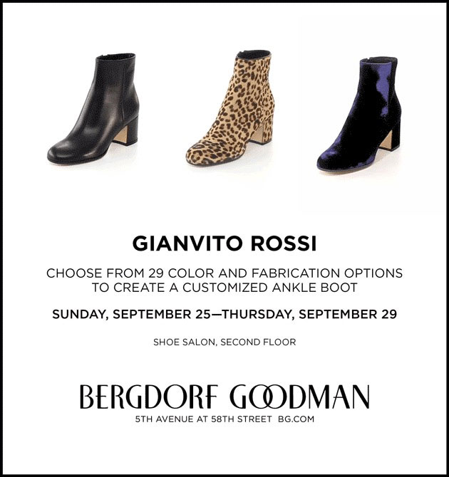 Create a Customized Gianvito Rossi Ankle Boot
