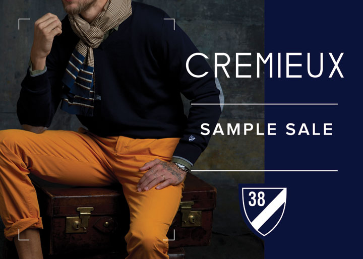 Cremieux Sample Sale
