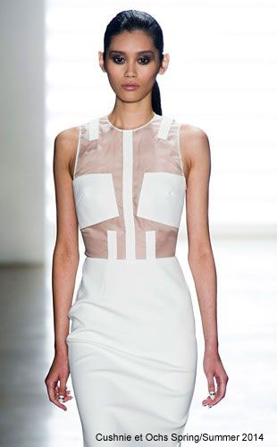 Soft and Sheer - Cushnie et Ochs Spring Summer 2014