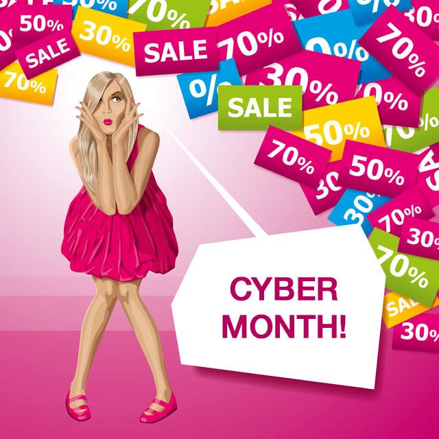 Cyber Month: A Non-Stop Shop-aganza
