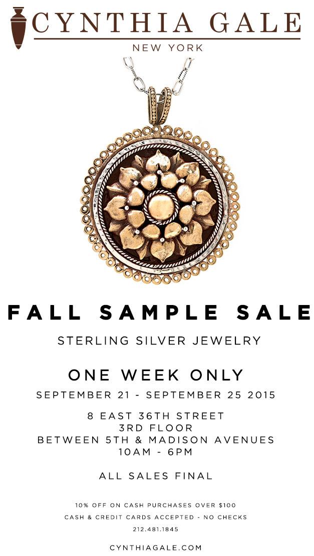 Cynthia Gale New York Sample Sale