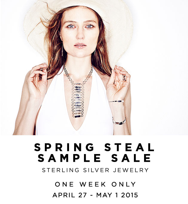 Cynthia Gale New York Spring Steal Sample Sale