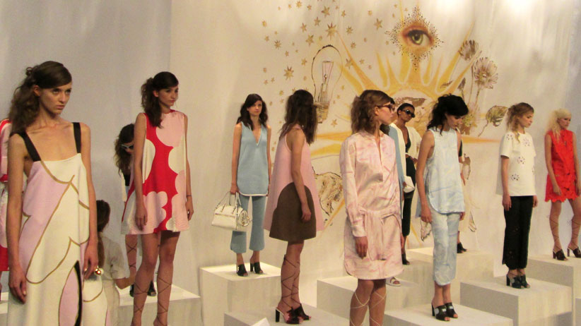 Cynthia Rowley RTW Spring 2015 Collection: A Walk in the Forest