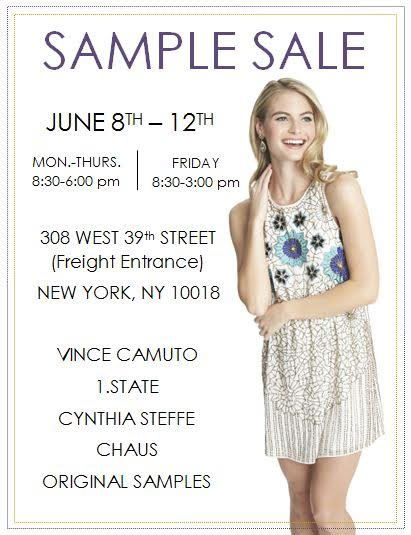 Cynthia Steffe, Vince Camuto, & More Sample Sale
