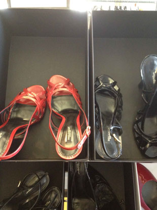 D&G Sandalo New Air Shoe in Red or Black ($208, $695)