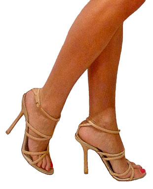 D-Squared open toes heels