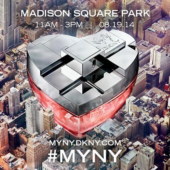 DKNY #MYNY Fragrance Launch