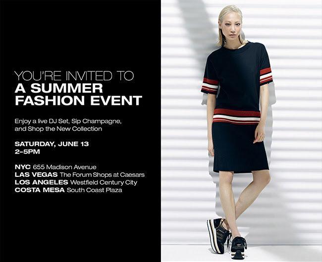 DKNY Summer Fashion Event