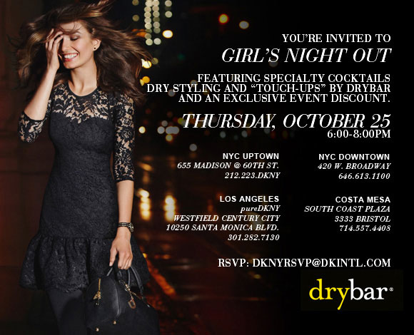 DKNY Girls Night Out Event