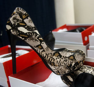 Leopard-print Pumps at DKNY Sample Sale