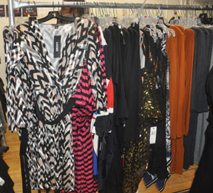 Dresses at the DKNY Sample Sale