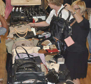Handbags at the DKNY Sample Sale