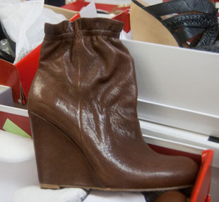 Leather Bootie at DKNY Sample Sale