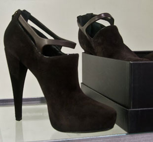 Women's shoes are from DKNY with a few pairs from Donna Karan