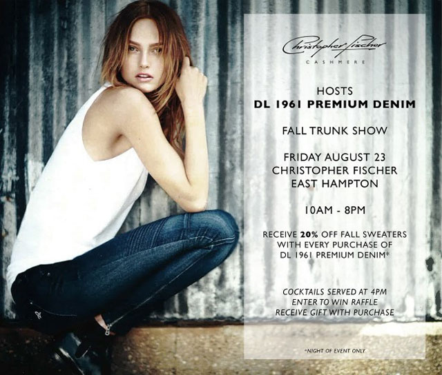 DL 1961 Premium Denim Trunk Show