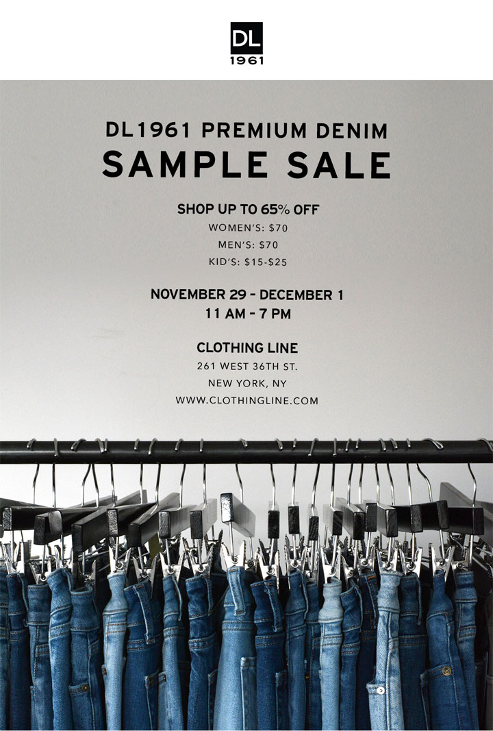 DL 1961 Sample Sale