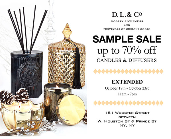 D.L. & Co. Sample Sale